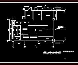电梯机房平面布置图_某酒店发电机房平面布置图免费下载 - 电气图纸 - 土木工程网