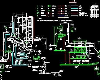 某垃圾发电厂电气设计图