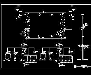 35kv变电所主接线图_某发电厂500KV变电所主接线图免费下载 - 电气图纸 - 土木工程网