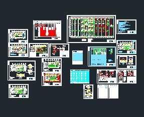 10kv高低压配电房设计图图片