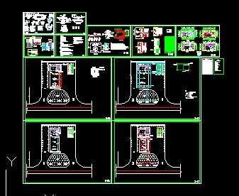 某加油站工程电气设计图