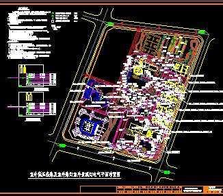 低压线路及路灯室外景观灯设计图