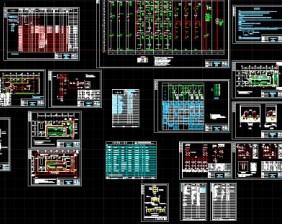 10KV变电所v图纸图纸免费下载-图纸图纸板式2.3办公桌电气米图片