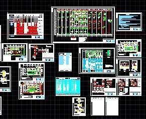 10KV变电所设计图免费下载-电气图纸地板图纸v电气静电图片