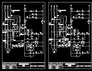 自耦降压起动柜原理图免费下载 - 电气图纸 - 土木