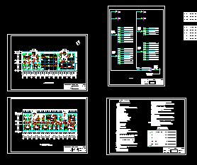 某四层办公楼v平面设计图免费下载-平面电气德国著名图纸设计师有哪些图片