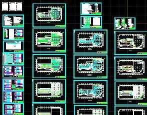 某九层综合楼电气施工图