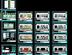 某办公楼电气设计图