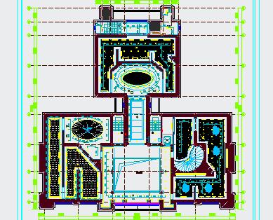 博物馆装修电路系统图
