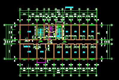 某宿舍楼电气设计图纸