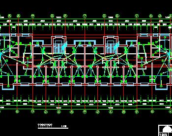 住宅楼电气设计图纸