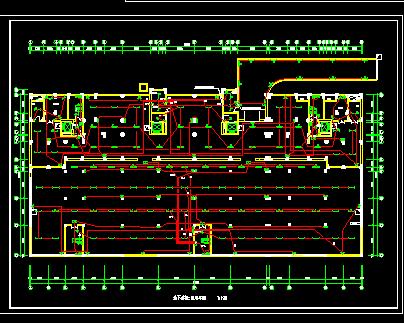 地下停车场电气设计图纸