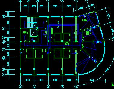 街面房电气设计图