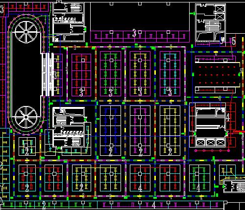 某综合商场电气施工图