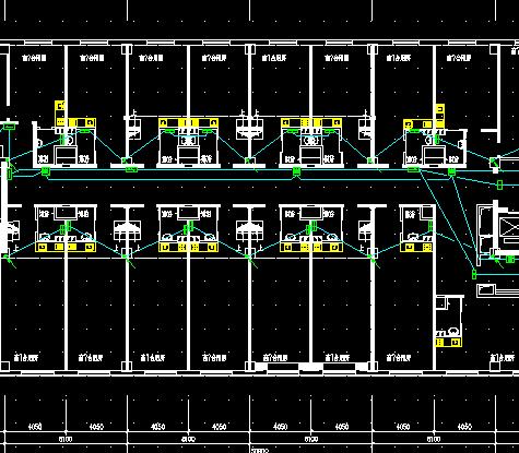 某商业广场应急照明系统图