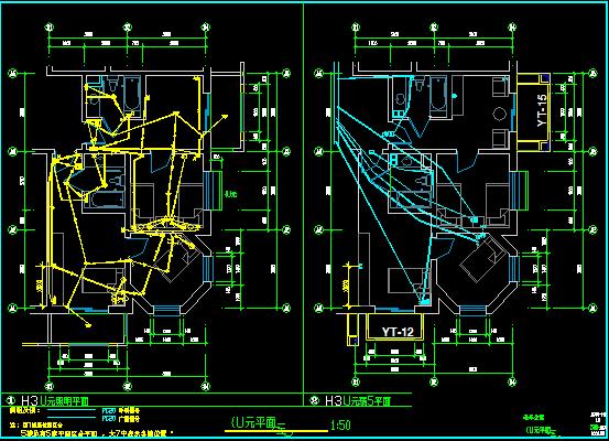 老人疗养院电气设计图