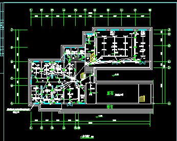 某乡镇卫生院电气设计图