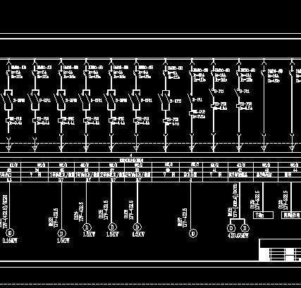 污水泵房低压配电系统设计图