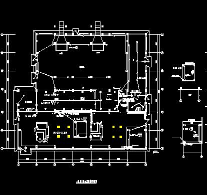 某热电厂主厂房照明施工图纸