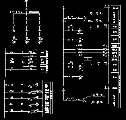 集水井排水泵自动控制系统图