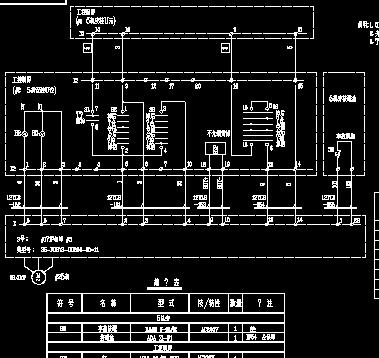 溢流水泵电机接线图