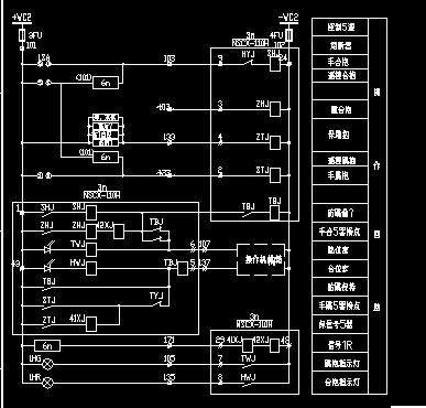 总降压站继电图免费下载 - 电气图纸 - 土木工程网