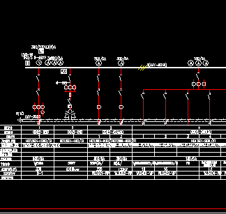 低压系统接线原理图