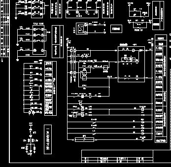 vs1进线柜二次电路原理图