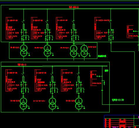 10kv变电站电气主接线图
