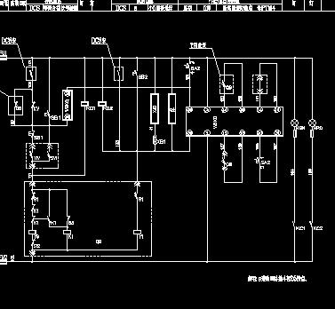 真空开关柜和真空接触器柜电气原理图