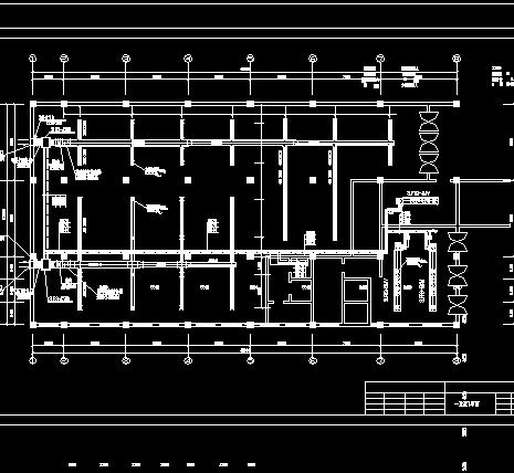 某科技大厦中央空调安装电气设计图纸