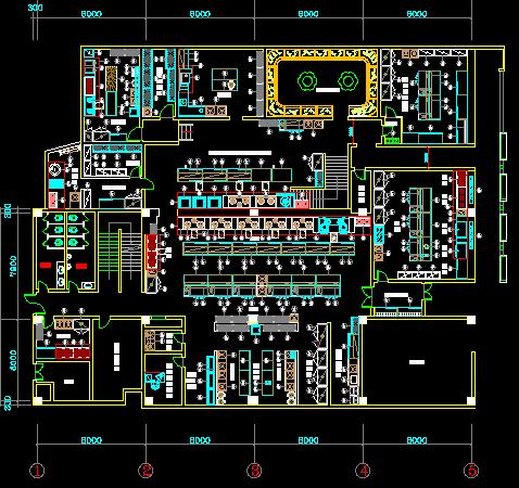 某酒店厨房电气设计图纸