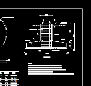 40米升降高杆灯基础图免费下载 - 电气图纸 - 土木