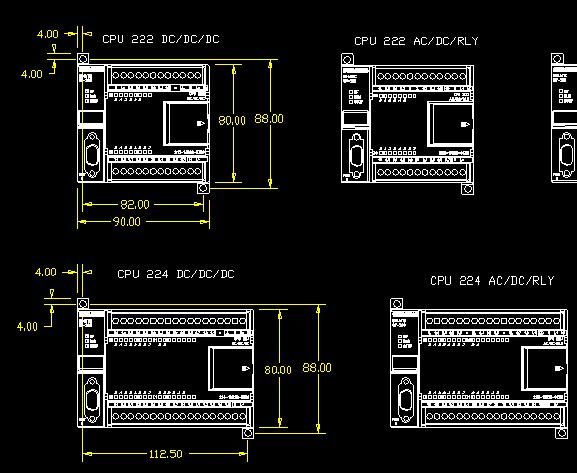 西门子器件CAD文件