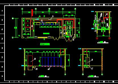 10KV变电所施工图纸