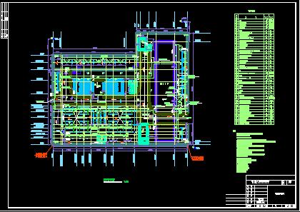 110kV变电站设计图纸