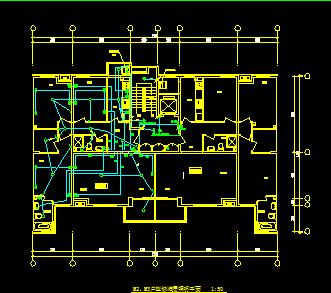 住宅楼全套电气设计图纸