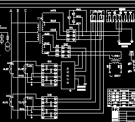 400KVA箱式变电站设计图纸