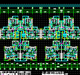 十五层小区住宅楼电气施工图纸