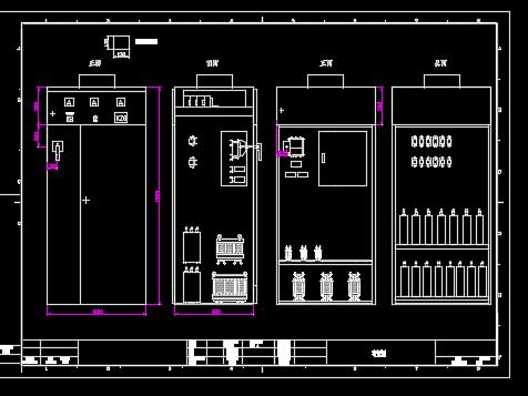 四川某高层住宅楼全套电气施工图纸