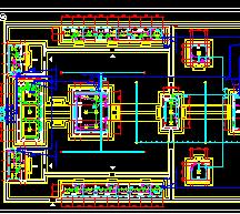 仿古寺庙电气设计图纸