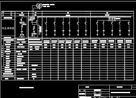 箱站增容工程630KVA箱站施工图