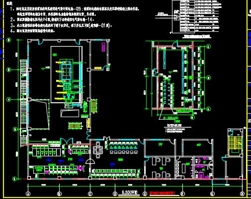 1x6MW余热余压发电电力系统设计图纸