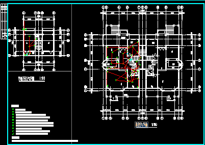 三层别墅强弱电设计图纸