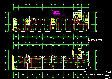 五层商场电气施工图