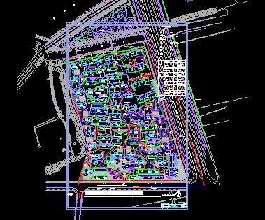 某住宅楼图纸平面施工电力90一100二层图纸设计半图片