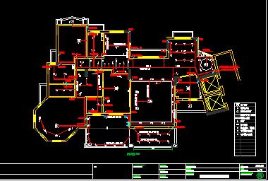 住宅楼户型电气装修设计图纸