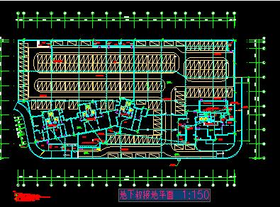某地下车库电气设计图纸