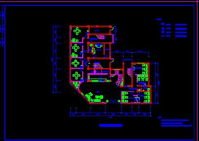 三层浴场水电施工图纸