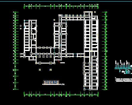 三层医院综合楼电气设计图纸